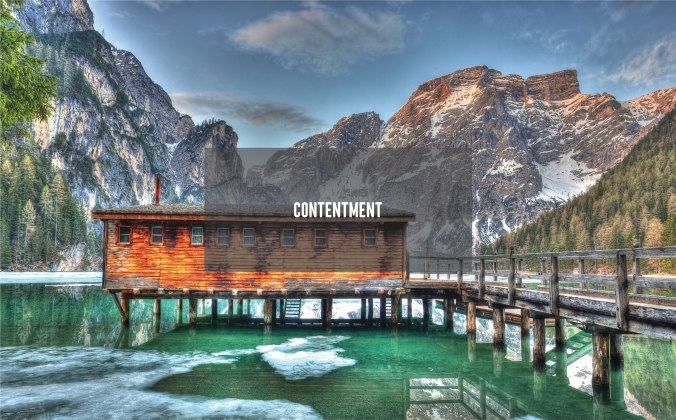 Contentment_Cover Photo