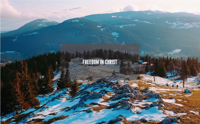 Freedom in Christ_Cover Photo