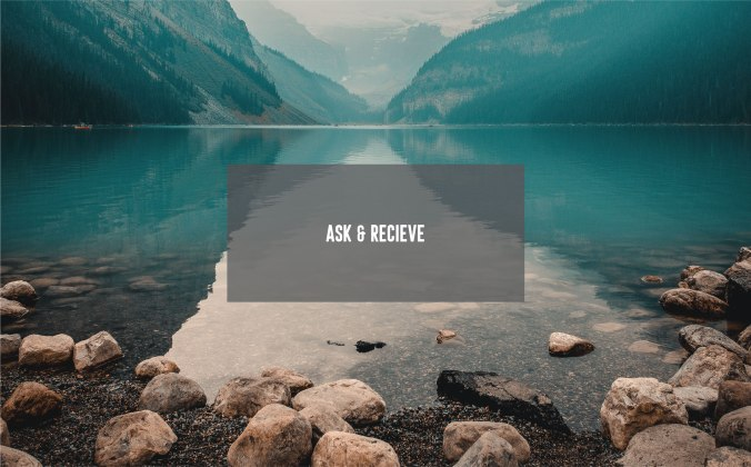 Ask & Recieve_Cover Photo